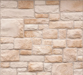 Cream Limestone Veneer | Stone for Walls and Fireplaces