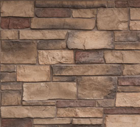 Delafield Ledgestone Veneer | Stone for Walls and Fireplaces
