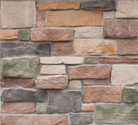 Green Lake Weatheredge Veneer | Stone for Walls and Fireplaces
