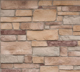Jackson Ledgestone Veneer | Stone for Walls and Fireplaces