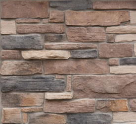 Nicolet Weatheredge Veneer | Stone for Walls and Fireplaces
