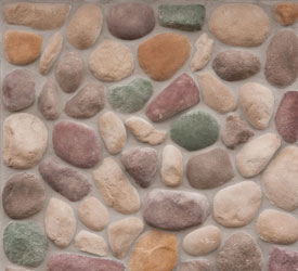 Northwoods River Rock Veneer | Stone for Walls and Fireplaces