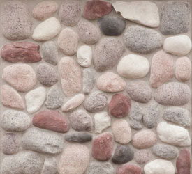 Wisconsin River Rock Veneer | Stone for Walls and Fireplaces